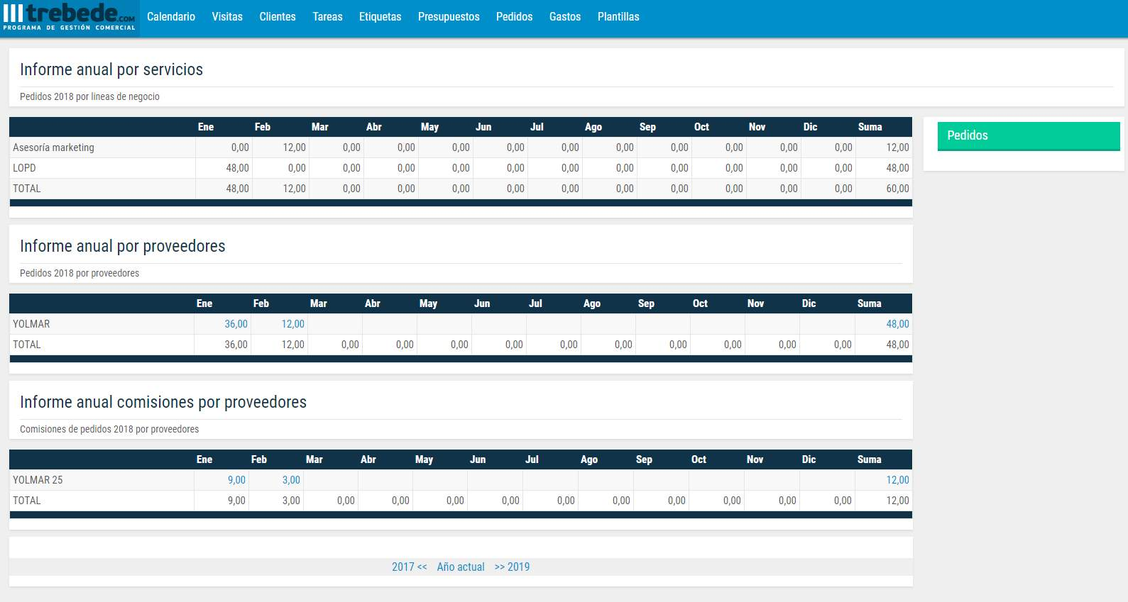 programa de gestión comercial online para agentes comerciales multicartera